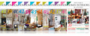 12 Month Subscription to Ireland's Homes Interiors & Living Magazine