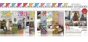 A full year of 2015 Ireland's Homes Interiors & Living Magazine