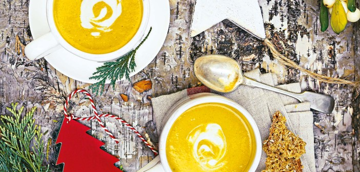 December 2015 - Cookery - Issue 246 - Curried Parsnip and Honey Soup