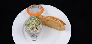 January 2016 - Cookery - Issue 247 - Brandade of Smoked Mackerel with Horseradish & Melba Toast