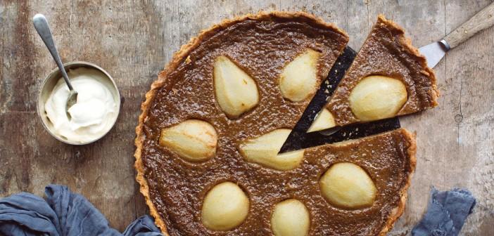 February 2016 - Cookery - Issue 248 - Caramel Pear Tart