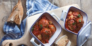 February 2016 - Cookery - Issue 248 - Spanish Meatball and Butter Bean Stew