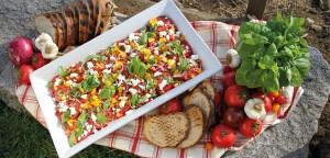 March 2016 - Cookery - Issue 249 - Super Salad Bruschetta