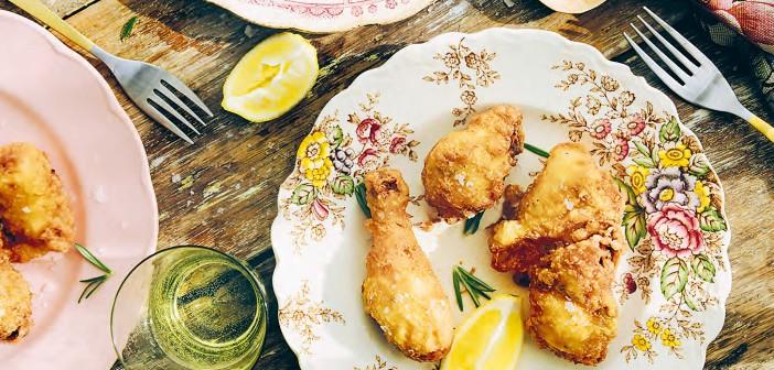 April 2016 - Cookery - Issue 250 - Pollo Fritto alla Fiorentina - Florentine Fried Chicken