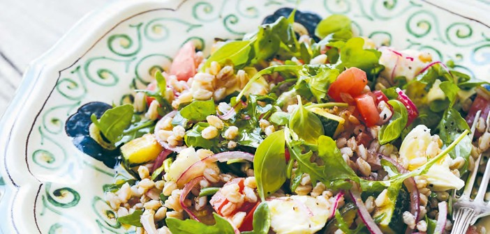 April 2016 - Cookery - Issue 250 - Insalata di Farro - Farro Salad