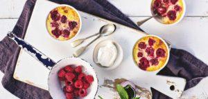 July 2016 - Cookery - Raspberry Custard Pots - Issue 253
