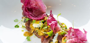 August 2016 - Cookery - Cured Beef Fillet with Mustard Dressing, Toasted Hazelnuts and Radicchio - Issue 254