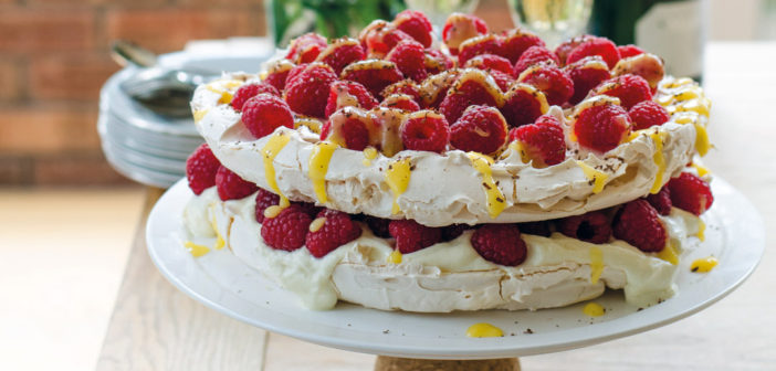 September 2016 - Cookery - Lemon and Raspberry Pavlova - Issue 255