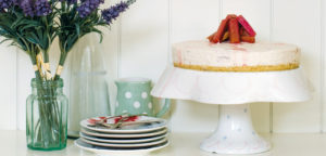 September 2016 - Cookery - Rhubarb & Custard Cheesecake - Issue 255