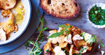 October 2016 - Cookery - Wild Mushroom and Irish Ricotta Bruschetta - Issue 256