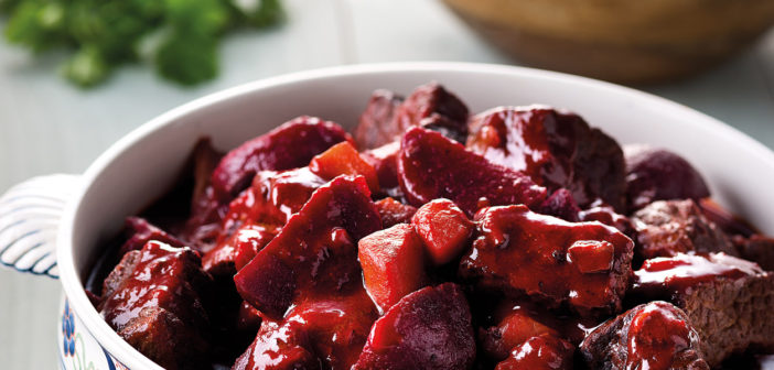 Cookery - Daube of Beef with Beetroot and Horseradish - Issue 260