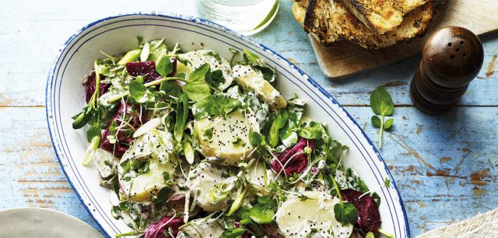 Cookery - Healthy Potato & Beetroot Salad - Issue 262