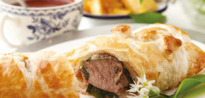 September 2017 - Cookery - Lamb Wellington with Wild Garlic - Issue 267