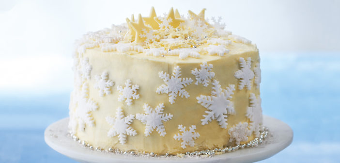 Cookery - White Chocolate Wonderland Cake - Issue 270