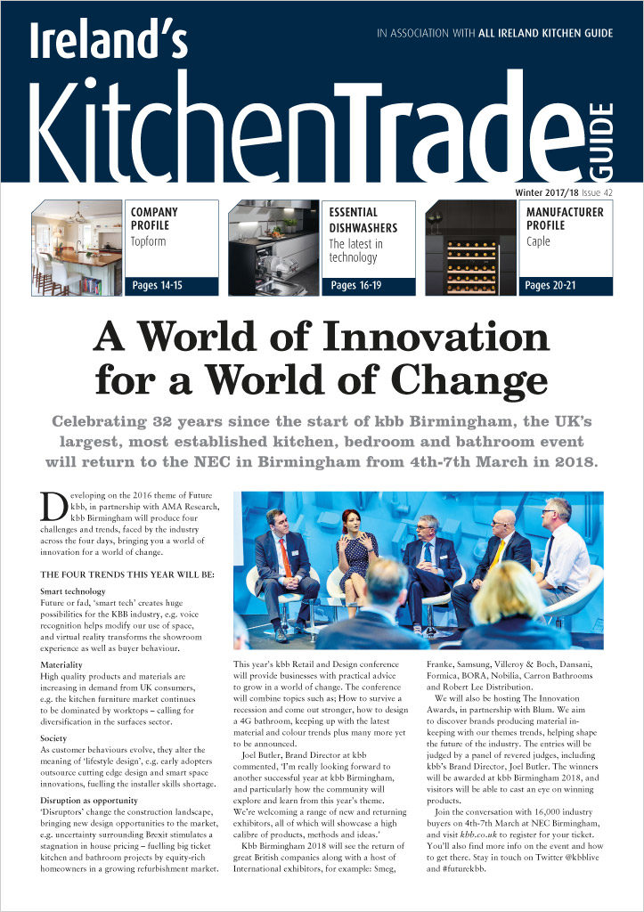 Ireland's Kitchen Trade Guide - Available Now!