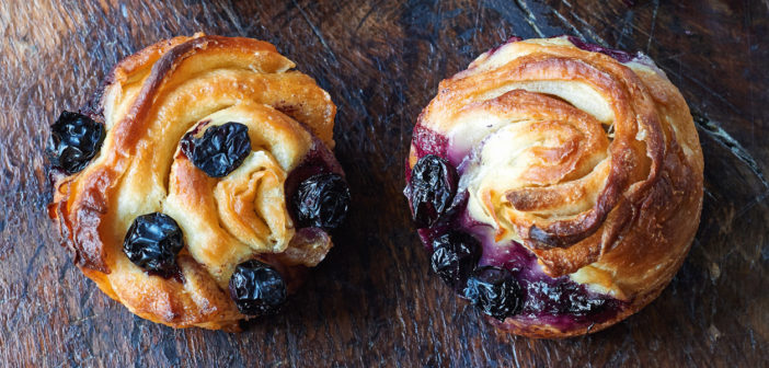 Cookery - Blueberry Cruffins - Issue 274