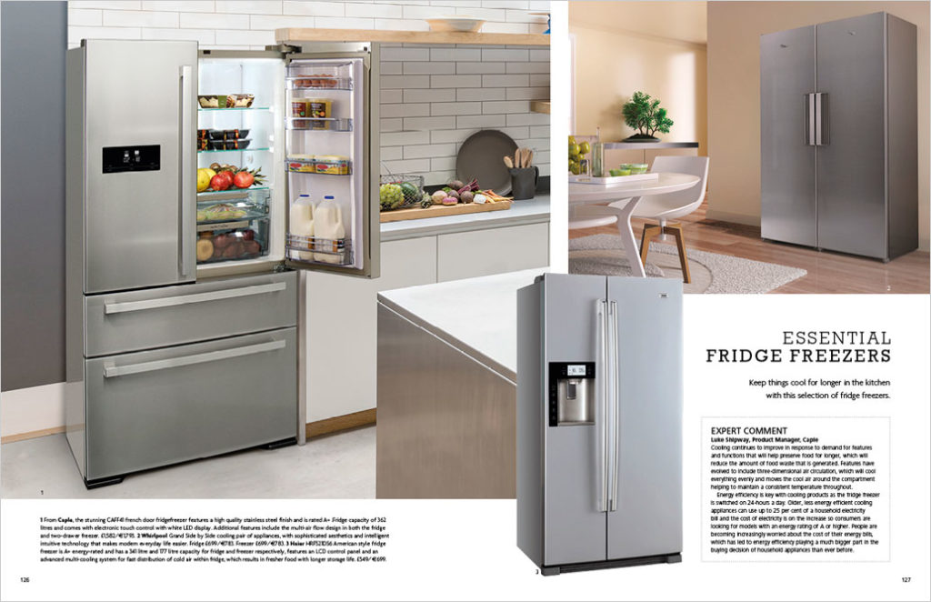 Essential Fridge Freezers