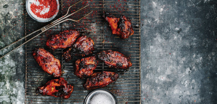 Cookery - Sesame Hoisin Chicken Wings - Issue 277