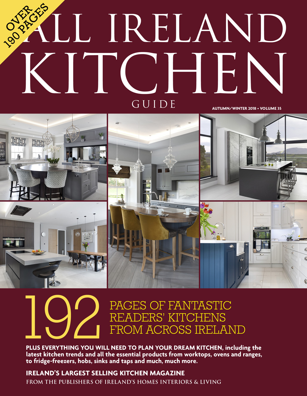 All ireland kitchen guide volume 35 everything you need to plan your dream kitchen