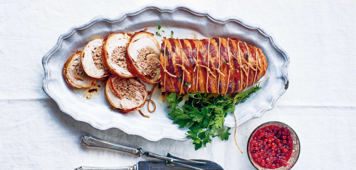 Cookery - Rolled Turkey with Meatball Stuffing - Issue 282