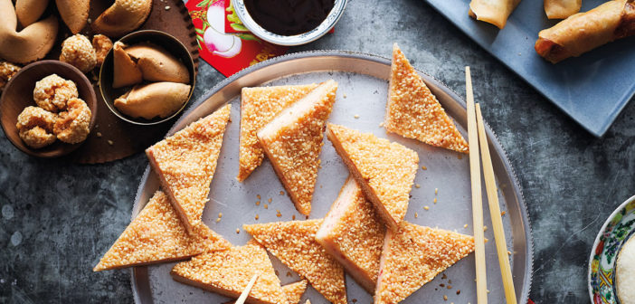 February 2019 - Cookery - Sesame Seed Prawn Toast - Issue 284