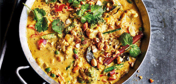 May 2019 - Cookery - Creamy Vegetable Korma - Issue 287