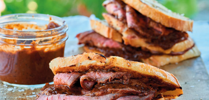 July 2019 - Cookery - Santa Maria steak sandwiches - Issue 289