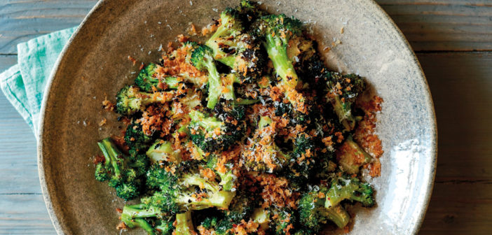 July 2019 - Cookery - Grilled broccoli with toasted breadcrumbs and parmesan - Issue 289