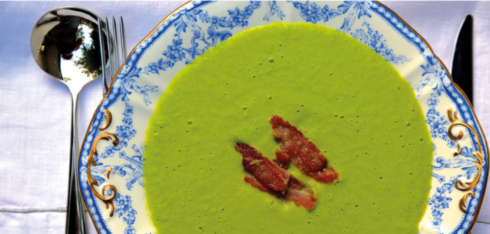 October 2019 - Cookery - Pea & Bacon Soup - Issue 292