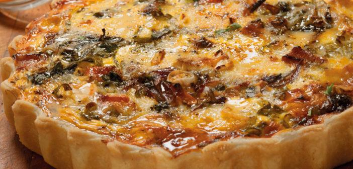 January 2020 - Cookery - A seasonal vegetarian tart - Issue 295