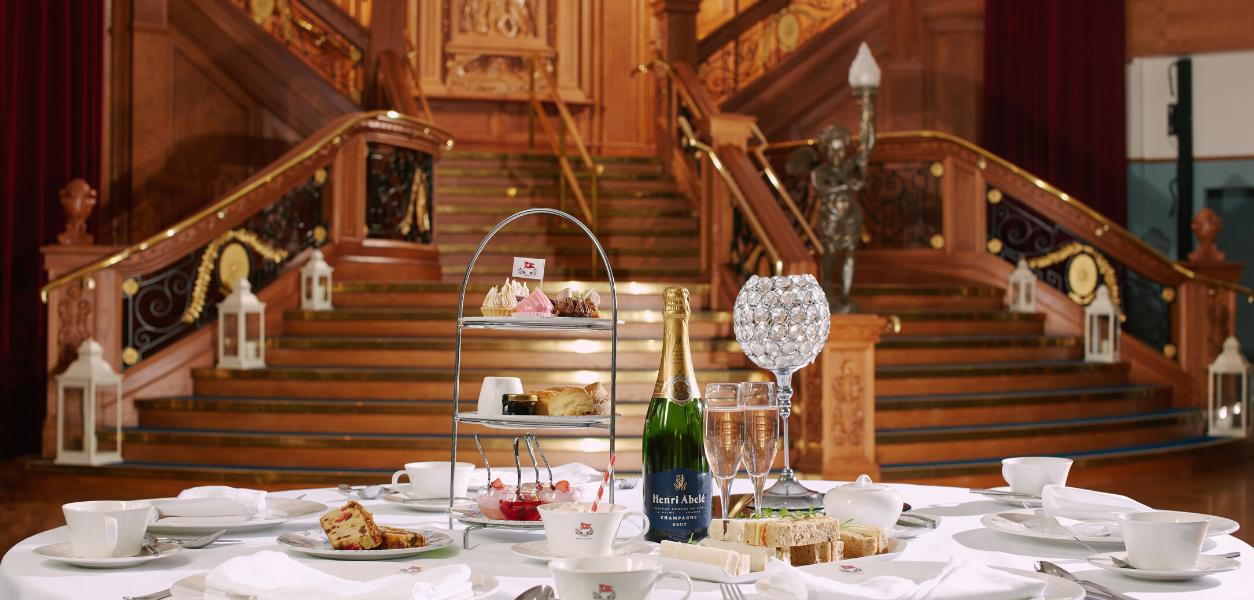 Titanic Belfast Afternoon Tea