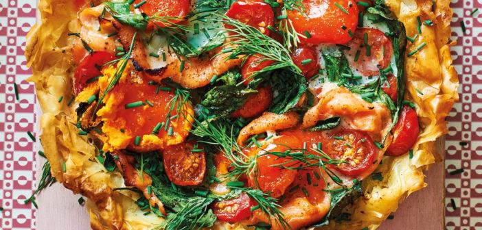 September 2020 - Cookery - Filo Breakfast Tart - Issue 301