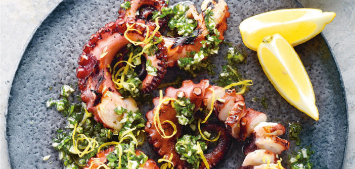 Grilled Octοpus