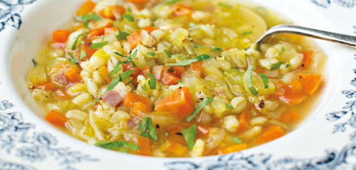 January 2021 - Cookery - Vegetable Soup with Barley - Issue 305