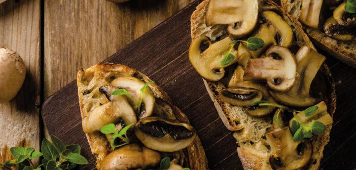 January 2021 - Cookery - Wild Mushroom on Toasted Bread - Issue 305