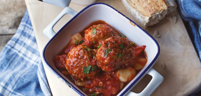 January 2021 - Cookery - Spanish Meatball and Butter Bean Stew - Issue 305