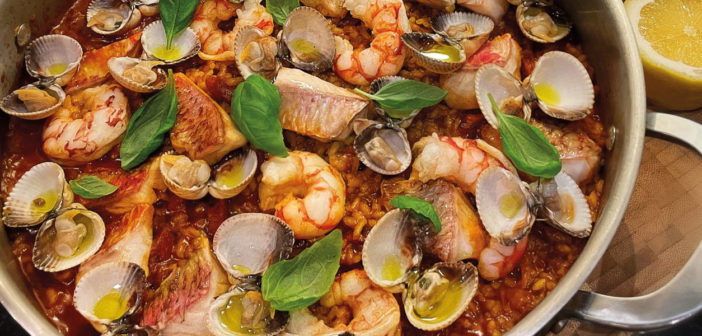 The Ultimate Summer Paella